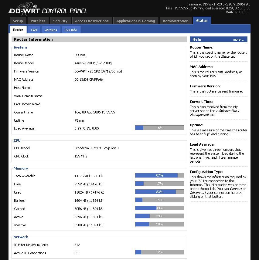 DD-WRT: Il firmware migliore per i routers 1°Puntata
