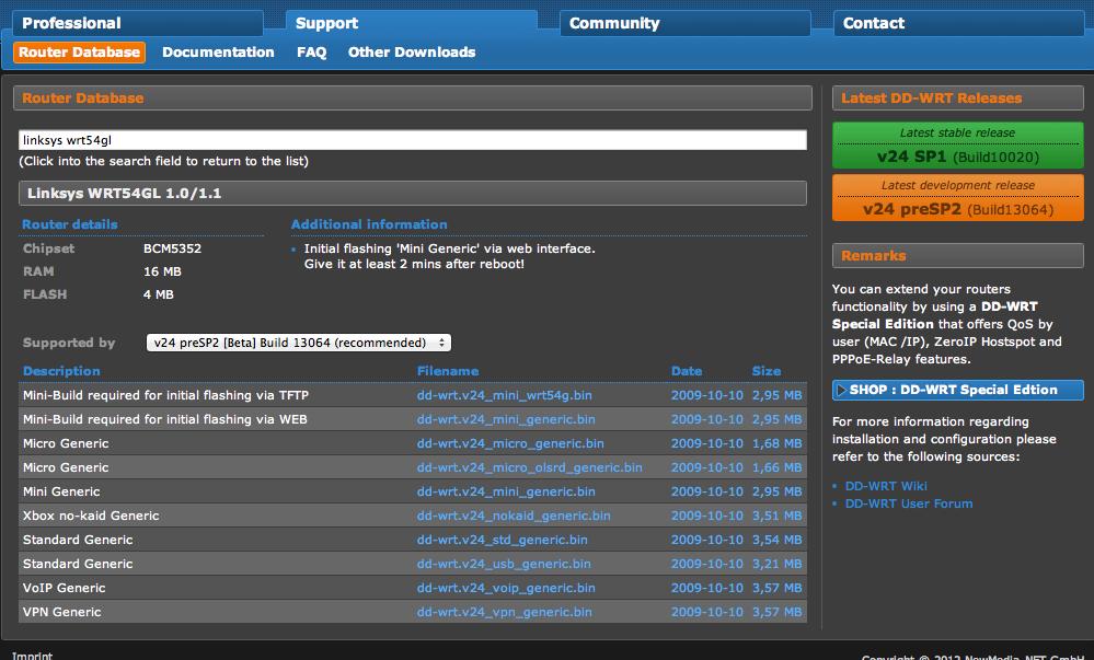 Installare DD-WRT su un router 2°Puntata
