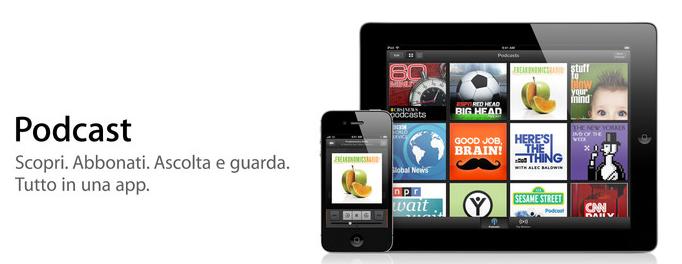 Podcast su iPhone e iPad: finalmente disponibile l'applicazione su AppStore