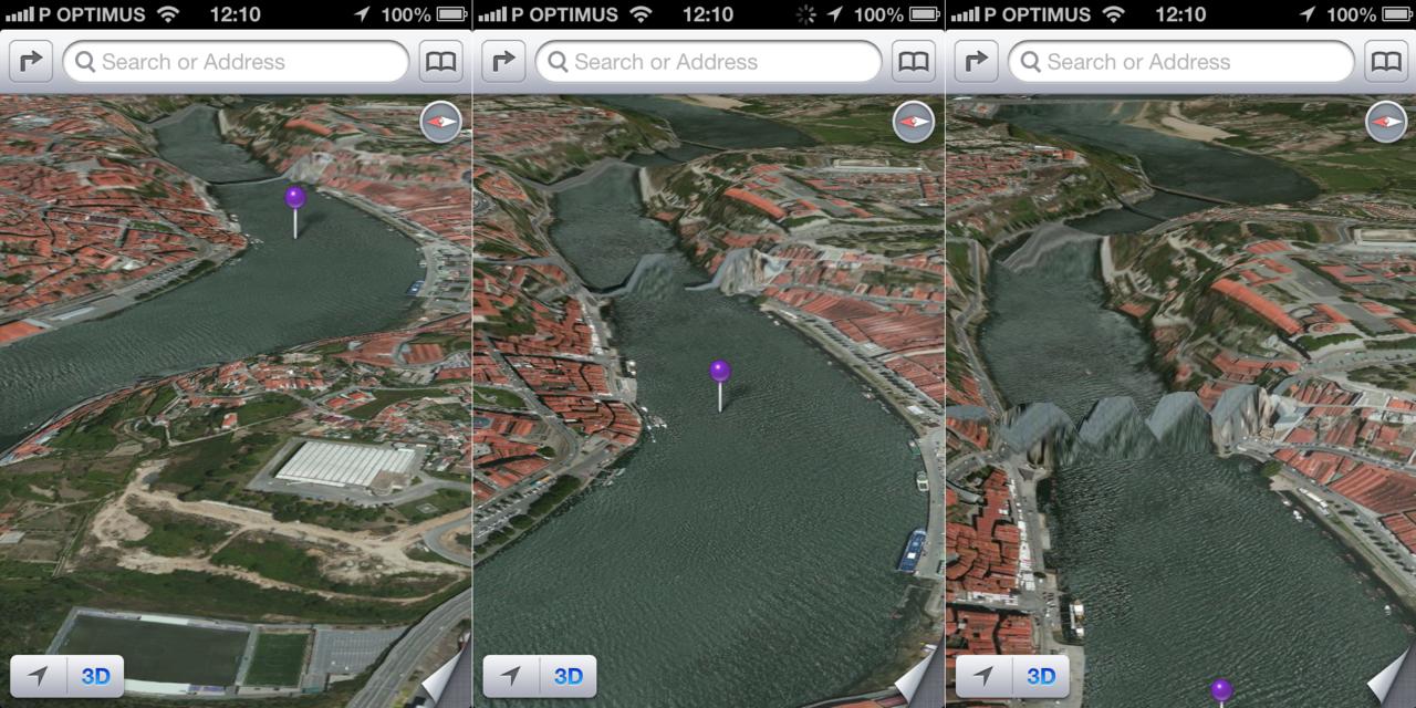 "Mappe ""pazze"" su iOs 6 di Apple"