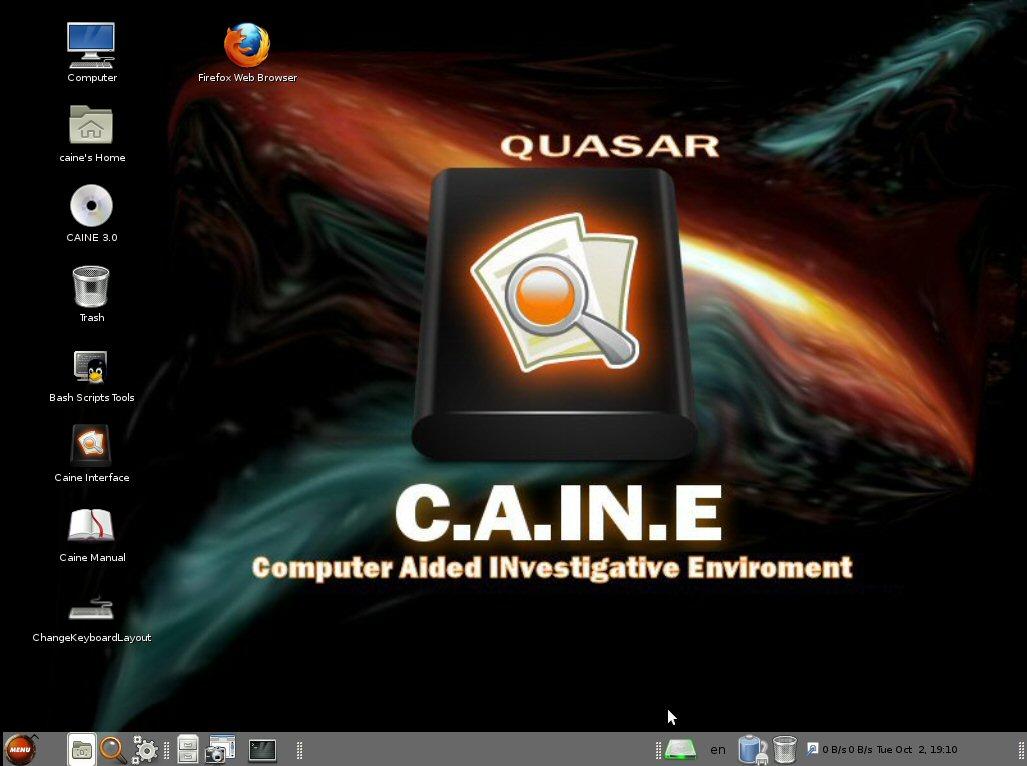 Caine OS: L'indagine forense all'Italiana