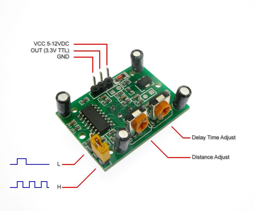 Lezione 6 su Arduino: I sensori di presenza PIR