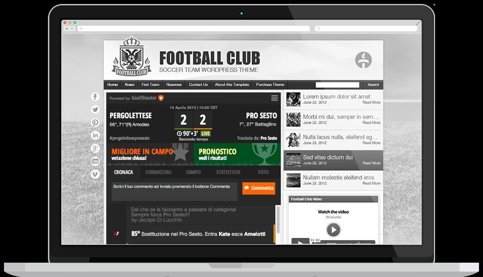 GoalShouter: l'app per commentare le partite nel WEB