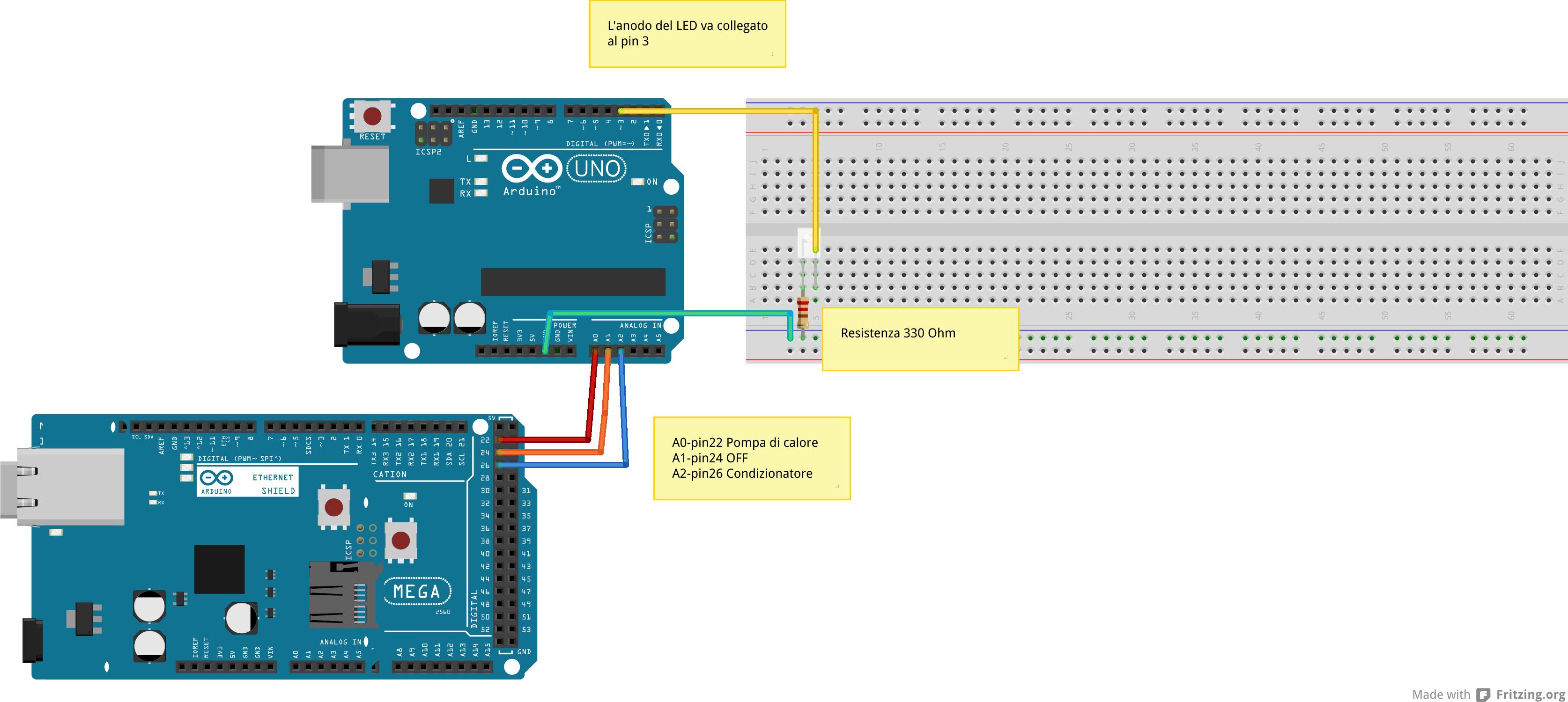 Come comandare il condizionatore di casa con Arduino, anche da remoto !