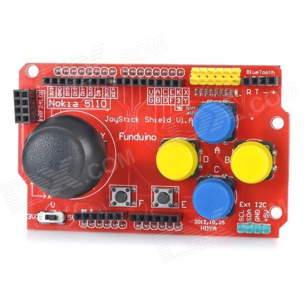 Lezione 16: Come utilizzare la Joystick shield per i propri progetti con Arduino