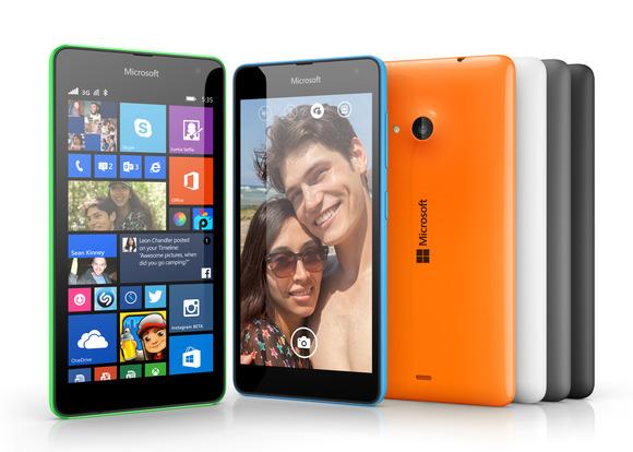 Lumia 535: il nuovo smartphone low-cost di Microsoft