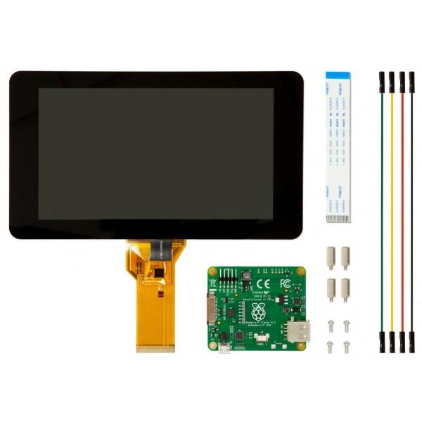 Unboxing schermo touchscreen ufficiale 7″ per Raspberry PI