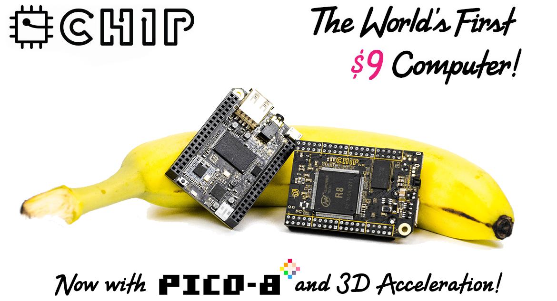 C.H.I.P il nuovo PC low cost targato Linux da 9$